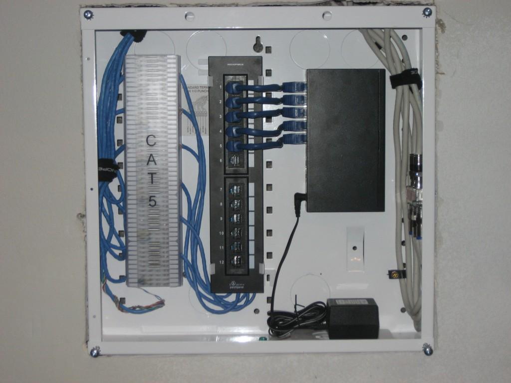 Onq cat 6 patch panel